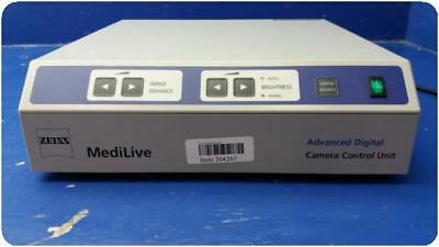 Zeiss Medilive 3 Ccd Mono Advanced Digital Camera Control Unit @ (204263)