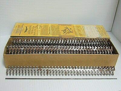 "New (8 Sets) Alligator Steel Belt Lacing 69-7598 10009 27-L 27L 7/32""-9/32""belt"