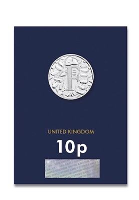 Fish and Chips 10p - UNC - A-Z Alphabet - F - Pence - Uncirculated - Coin Hunt