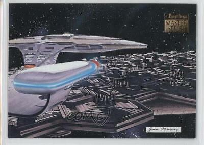 1993 SkyBox Master Series Star Trek #S1 Argus Array Non-Sports Card 6or