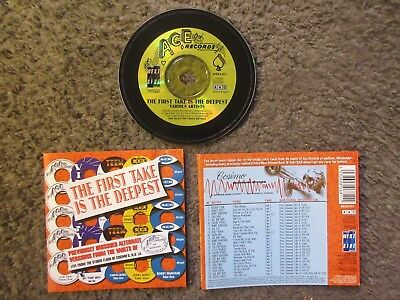 """V/a """"the First Take Is The Deepest"""" 1998 Soul/funk R&b 24Trx.uk Oop Rare Cd"""