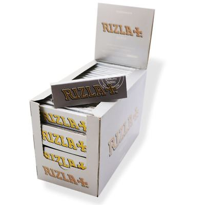 Genuine Rizla Silver Rolling Paper (Full Box Of 100 Booklets)
