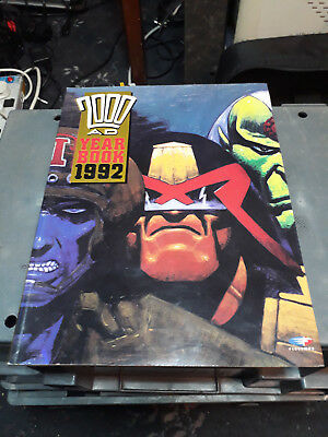 2000AD Yearbook 1992 FREE POSTAGE