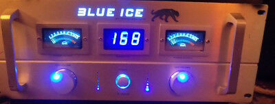 Technical Hi Fi Blue Ice X-5000 Power Amplifier Amp DJ Stereo