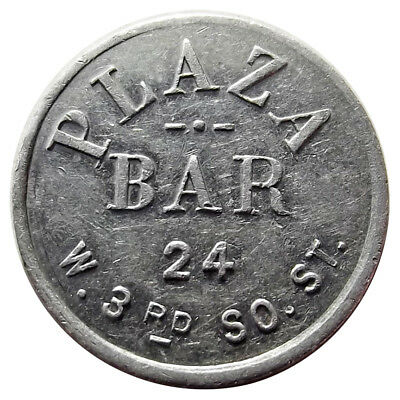 Utah Trade Token - Plaza Bar, Salt Lake City UT, 2½¢, Early SLC