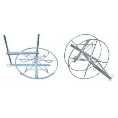 TRI SPINNER 3 Way Wire Dispenser - Electric Fence Fencing Reel Coil Spool Farm R