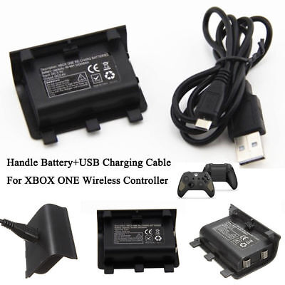 NI-MH 2400MAH Charge Kit Rechargeable Battery Pack With USB Cable For Xbox One L