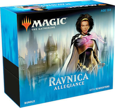 Magic the Gathering English Ravnica Allegiance Bundle Fat Pack SEALED IN HAND!!