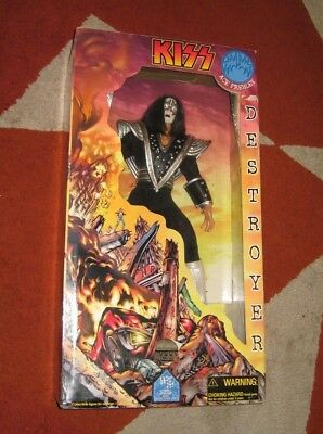 """KISS Ace Frehley 24"""" Destroyer Doll 1998 Art Asylum Collectible OOP RARE"""
