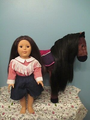 "Beautiful Madame Alexander 18"" Doll and Horse!"