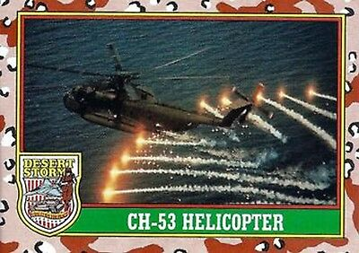 1991 Desert Storm Trading Card Series 1 9 CH-53 Helicopter