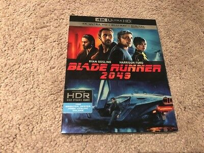Blade Runner 2049 4K Blu-Ray. Like New. Mint Condition