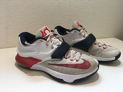 lowest discount on sale superior quality NIKE ZOOM KD 7 VII USA INDEPENDENCE DAY Mens SIZE 8.5 ...