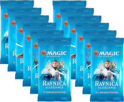 ENGLISH Magic MTG Ravnica Allegiance Booster 12ct Pack Lot SEALED IN HAND!!