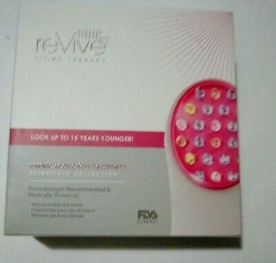 reVive wrinkle reduction light therapy treatment essentials collection