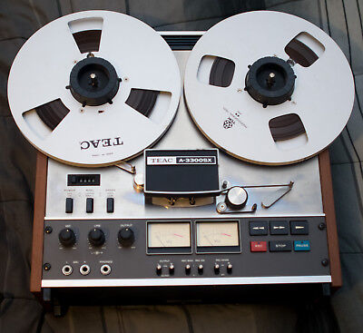 Teac A-3300SX Reel to Reel Tape Deck Parts Or Repair Only
