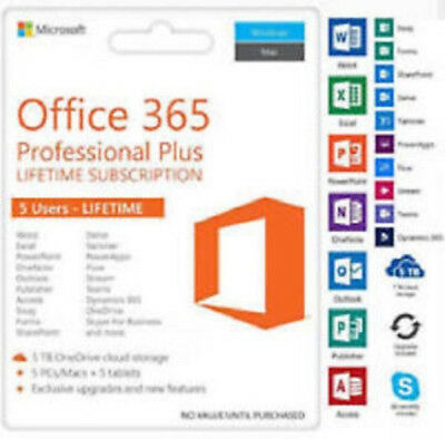 Microsoft Office 2016 Professional Plus 32/64 bit Genuine License Key for 1 PC🔥