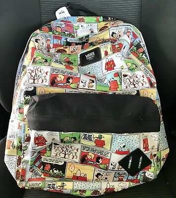a799d806dc VANS X PEANUTS Old Skool Backpack NWT Comics SNOOPY Charlie Brown ...