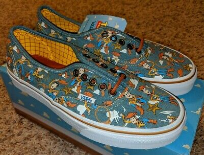VANS AUTHENTIC DISNEY Toy Story Aliens ~ New W Box