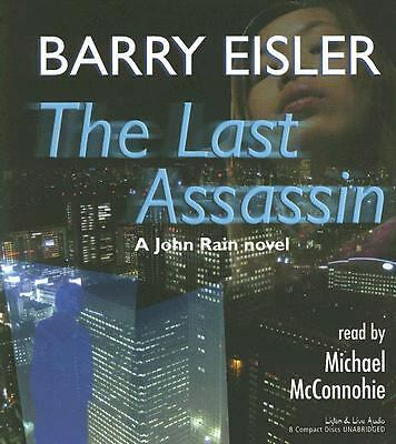 The Last Assassin 8-CD Unabridged Audiobook - Barry Eisler - NEW - FREE SHIPPING