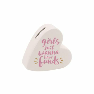 CGB Giftware Girls Just Wanna Have Funds  Keramik Spardose (CB1837)