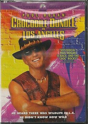 Crocodile Dundee in Los Angeles - DVD - Widescreen - Paul Hogan - New and Sealed