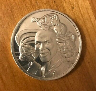 Space Jam Movie Promo Coin - Michael Jordan Looney Tunes (from VHS) *FREE SHIP*