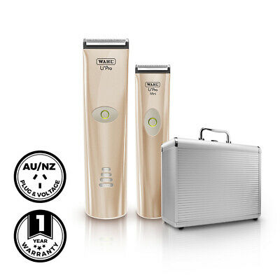 Wahl Professional Li+Pro Clipper, Li+Pro Mini Trimmer & Case Hair Electrical