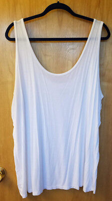 b23bf72cfa555 Lane Bryant Essential Camisole White Tank Cami Plus Size 26 28 Women s Top