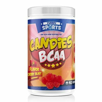 Candies BCAA by Yummy Sports | 40 Serves | Amino Acids & Lean Muscle Recovery