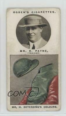 1927 Tobacco Base #32 Mr R Payne (Mr H Deterding's Colours) MiscSports Card