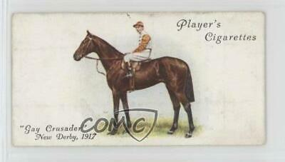 1933 Player's Derby and Grand National Winners Tobacco Base 10 Gay Crusader Card