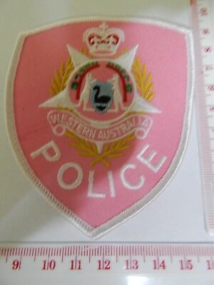 WA Police Special Cancer Support Patch hard to get