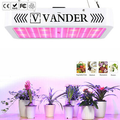 VANDER 2000W LED Grow Light Full Spectrum Hydroponic For Medical Plant Veg Bloom