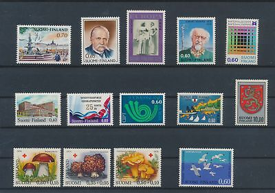 LJ62362 Finland nice lot of good stamps MNH