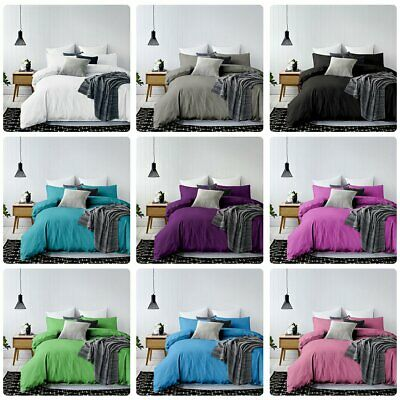 Tailored 1000TC Duvet/Doona/Quilt Cover Set Doubl/Queen/King/Super King Size Bed