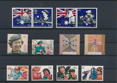 LJ62570 Australia nice lot of good stamps MNH
