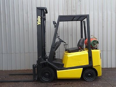 YALE GLP20 . 4300mm LIFT. USED GAS FORKLIFT TRUCK. (#2229)