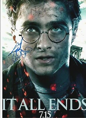 Daniel Radcliffe Signed Large 16x12 HARRY POTTER AFTAL
