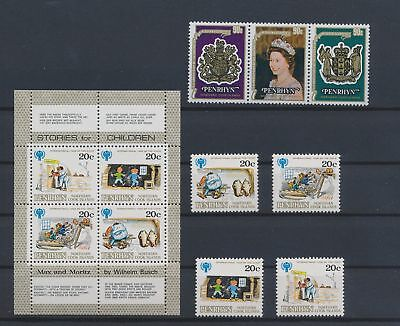 LJ62775 Cook Islands Penrhyn year of the child fine lot MNH