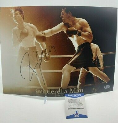 RUSSELL CROWE Signed 16X12 Photo CINDERELLA MAN AFTAL OnlineCOA