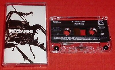 Massive Attack - Uk Cassette Tape - Mezzanine