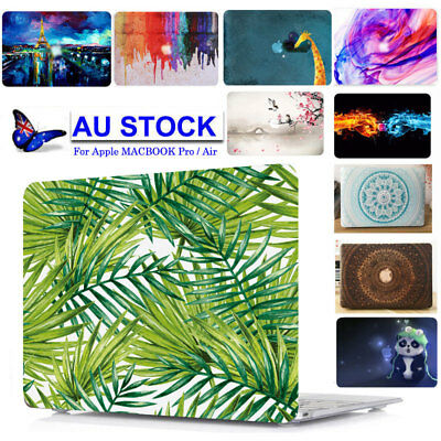 """Laptop Hard Case +Rubber Keypad Skin Cover to NEW Macbook Air/Pro Retina 13"""" 15"""""""
