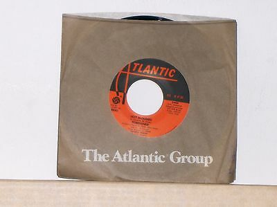 FOREIGNER - HOT BLOODED - TRAMONTANE - Near Mint Original 45 RPM Record Single