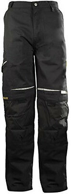 DBlade Canvas Mens Work Pants CE EN Certified Industrial Protection Work Wear
