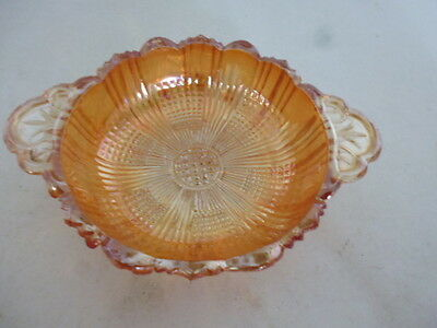 Vintage Carnival glass sweet dish