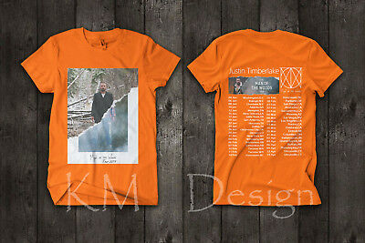 Justin Timberlake Man Of The Woods Tour 2019 Merch T Shirt Music Concert