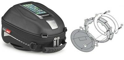 BMW R1200 Gs Adventure from Yr 14 Motorcycle Tank Bag Set Givi ST602 4L + Ring