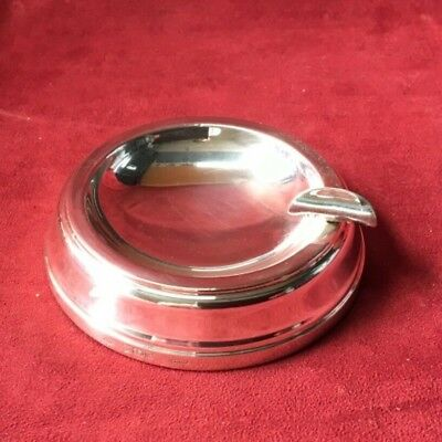Mappin & Webb 1991 Hallmark Solid Sterling Silver Cigarette / Cigar Ashtray