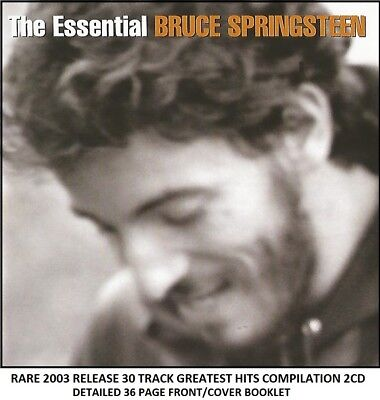 Bruce Springsteen Very Best Essential Greatest Hits Collection RARE 2CD Rock Pop